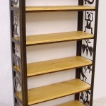 Petroglyph book shelf