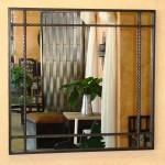 Custom mirror with steel rope