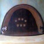 Beehive firescreen