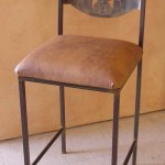 Custom barstool & back