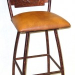 Sedona barstool with boot insert