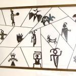 Custom petroglyph panel