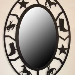 Oval Rodeo mirror 36x46 $820