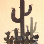 3-D Cactus Vignette 25x32x3 $456