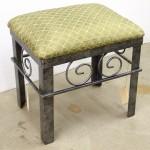 Custom vanity bench