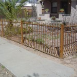 Fence with knuckles & spear points