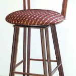 Dimension swivel barstool