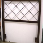 Custom headboard with copper