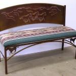 Painted Desert bench
