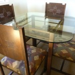 Pinto Dining table & Zia chair backs