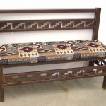 Zapotec bench with back