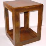 Custom corner table